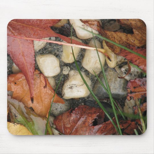 Autumn Collage Mouse Mat