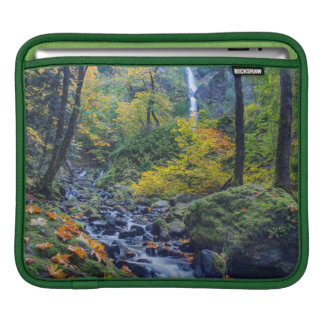 Autumn Color Along Starvation Creek Falls 2 iPad Sleeve