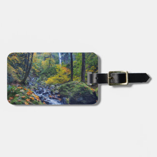 Autumn Color Along Starvation Creek Falls 2 Luggage Tag