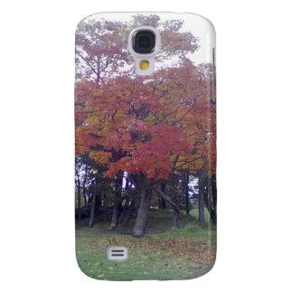 Autumn colored Tree Galaxy S4 Case
