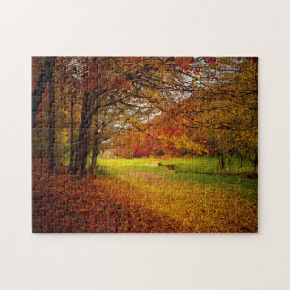 Autumn colorful jigsaw puzzle