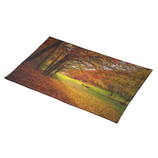 Autumn colorful placemat