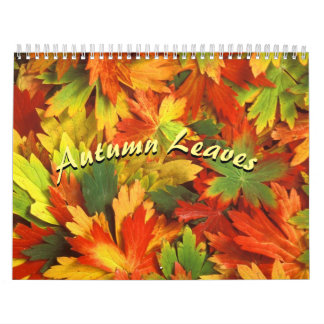 Autumn Colors 2017 Calendar