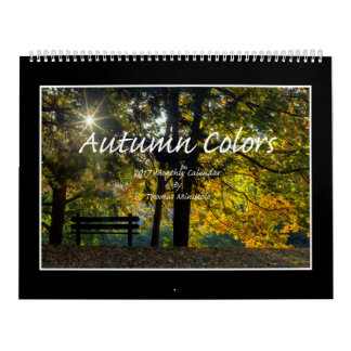 Autumn Colors 2017 Calendar By Thomas Minutolo