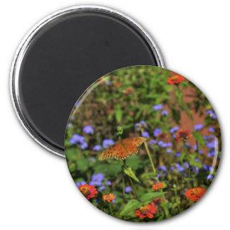 Autumn Colors 6 Cm Round Magnet