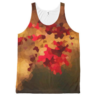 Autumn Colors All-Over Print Tank Top