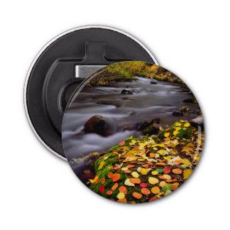 Autumn Colors along McGee Creek Bottle Opener