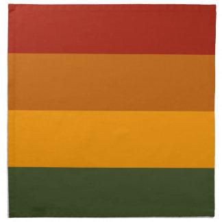 Autumn Colors custom cloth napkins