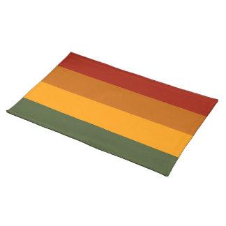 Autumn Colors custom placemats