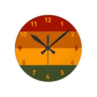 Autumn Colors custom wall clock