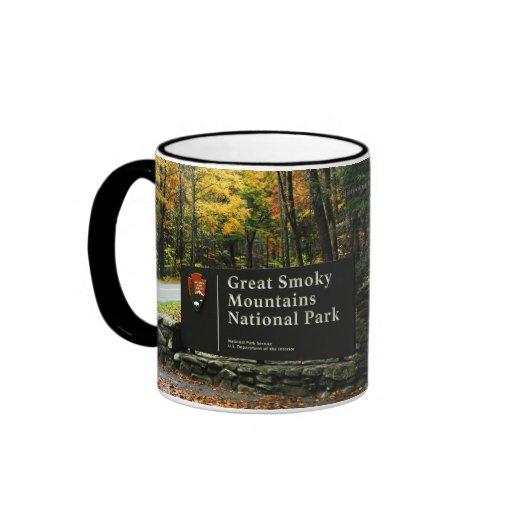 Autumn Colors - Gatlinburg Pigeon Forge Smoky Mtns Coffee Mugs