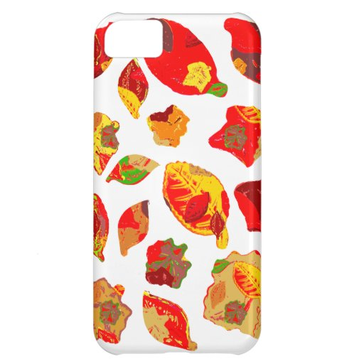 Autumn Colors Leaf Pattern iPhone 5C Cover
