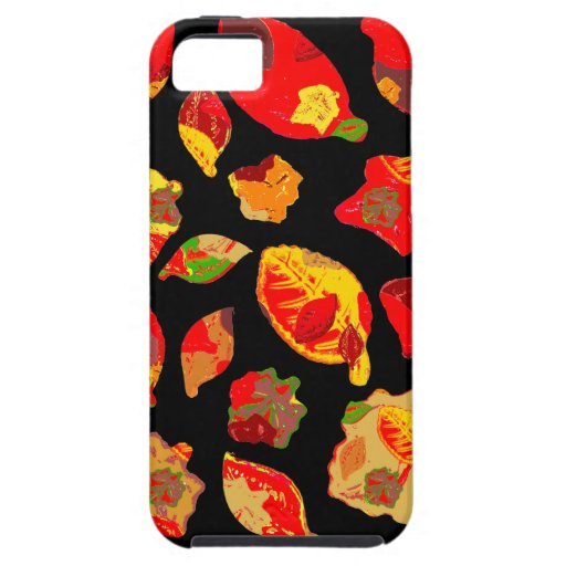 Autumn Colors Leaf Pattern iPhone 5 Cover