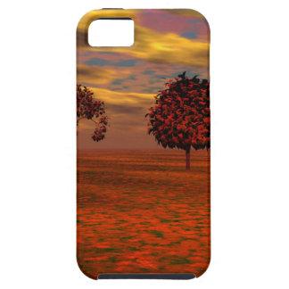 Autumn Colors Maple Trees Art Gifts Tough iPhone 5 Case