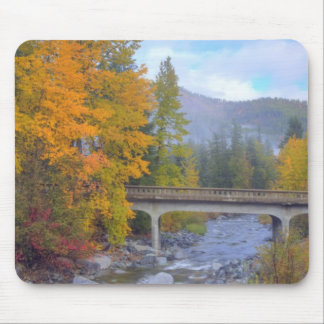 Autumn colors of forests in The Cascade Mouse Pad
