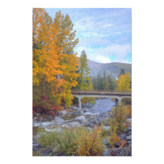 Autumn colors of forests in The Cascade Photo Art