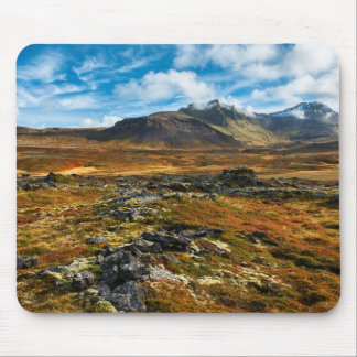 Autumn colors on the landscape mouse mat