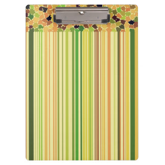 Autumn Colors Orange Red Yellow Apple Green Brown Clipboard