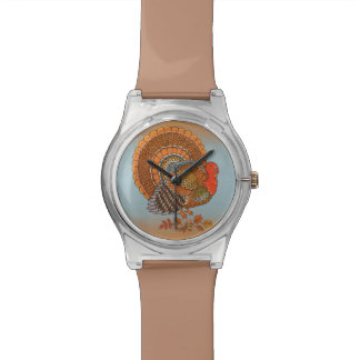 Autumn Colors Turkey Leaves Thanksgiving Watch