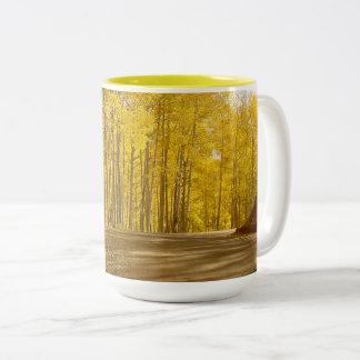 Autumn Colors Two-Tone Coffee Mug