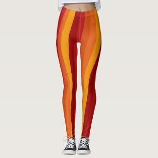 Autumn Colourful Legging