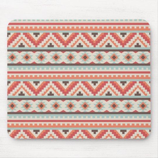 Autumn Colours Navajo Pattern Mouse Mat