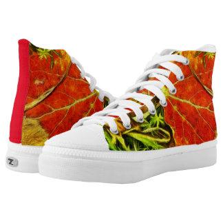 Autumn Colours shoes Printed Shoes