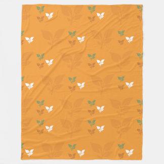 Autumn comfort fleece blanket