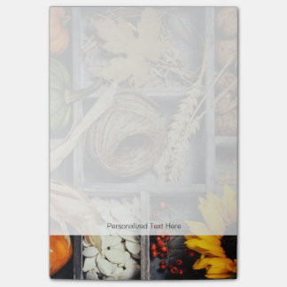 Autumn Composition In Wooden Box Post-it® Notes