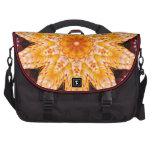 Autumn Corn Flower Laptop Messenger Bag