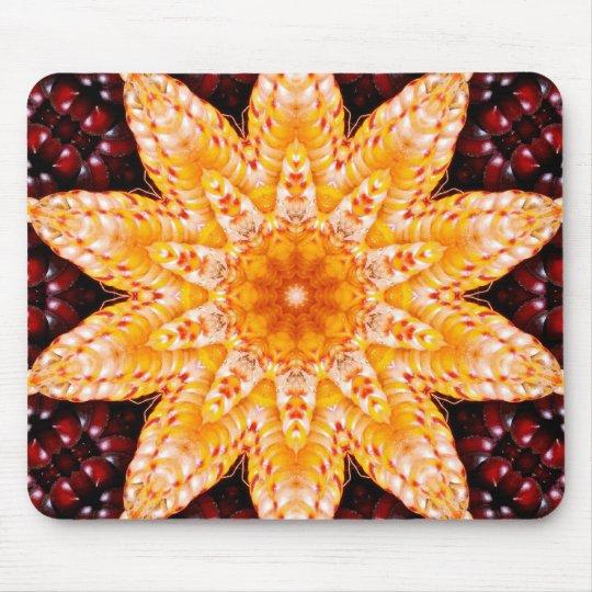 Autumn Corn Flower Mousepad