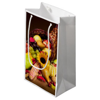 Autumn Cornucopia Small Gift Bag