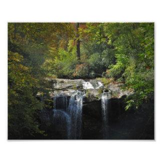 Autumn creek Falls Art Photo