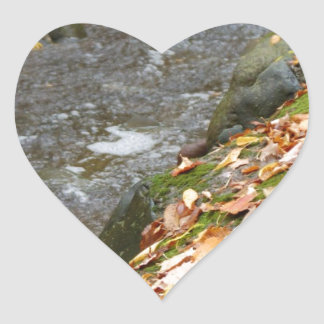 autumn creek Zaz.jpg Heart Sticker