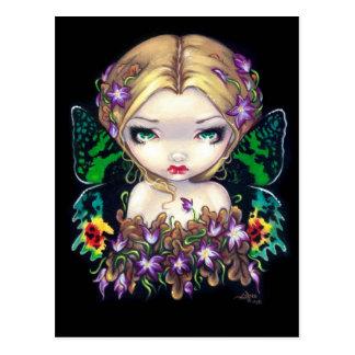 """Autumn Crocus Fairy"" Postcard"