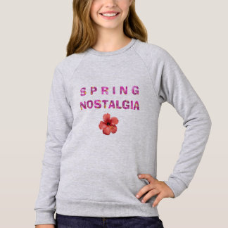Autumn Cry Spring Nostalgia Flower 04 Sweatshirt
