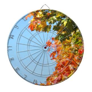 Autumn Dartboard