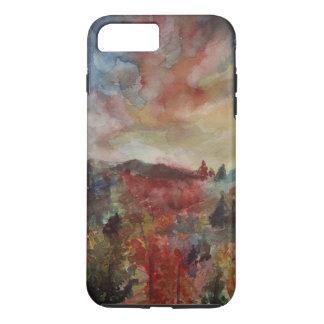 Autumn Day Landscape Art iPhone / iPad case