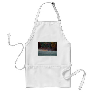 Autumn Deer in the distance Standard Apron