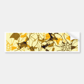 autumn design bumper sticker