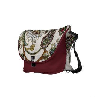 Autumn Dreams Boho Gems Paisley Commuter Bag