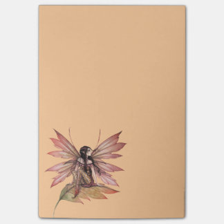 Autumn Drifting Fairy Fantasy Art Post-it Notes