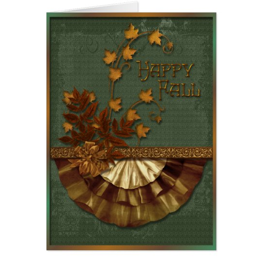 Autumn Elements Card