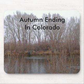 Autumn Ending In Colorado Mousepad