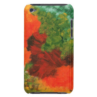 Autumn Equinox Abstract Painting for iPod 4th Gen iPod Touch Cases