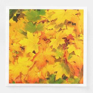 Autumn Escapes Standard Luncheon Paper Napkin -