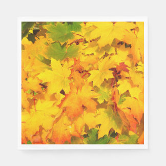 Autumn Escapes Standard Luncheon Paper Napkin