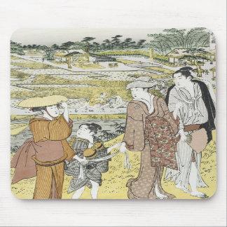 Autumn Excursion Shuncho 1770 Mousepad