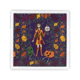Autumn Faerie Acrylic Tray