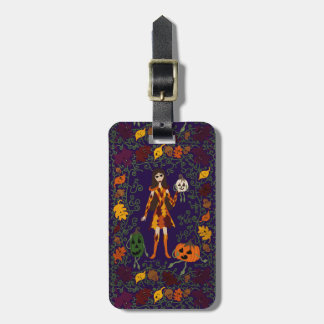 Autumn Faerie Luggage Tag
